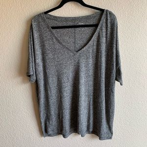 Old Navy Tops - 🍁 Old Navy: Boyfriend Tee Shirt Gray